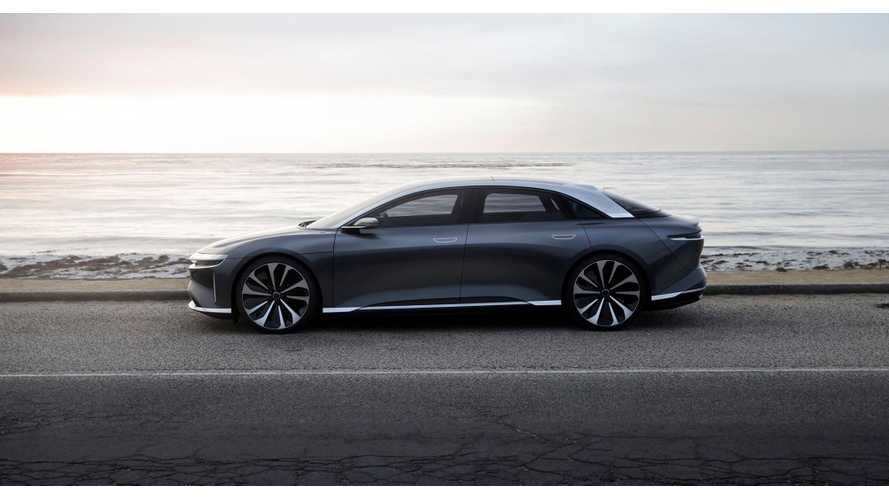 Lucid Motors Displays Updated All-Electric Air
