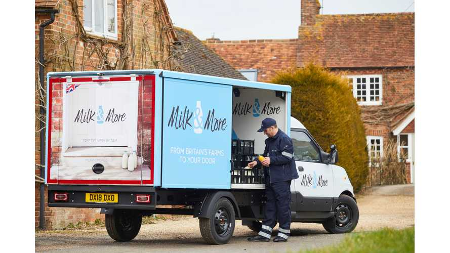 Milk & More Introduces 200 StreetScooter Electric Milk Floats