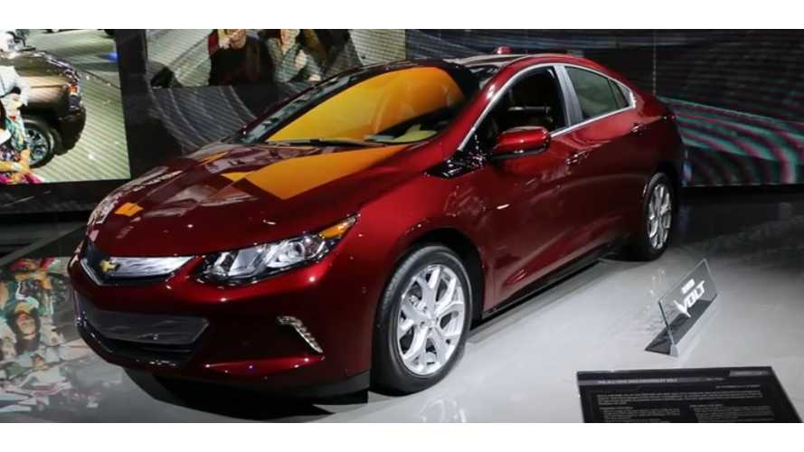 Chevrolet Volt Sales Stay Strong In November, Up 50% From Year Ago