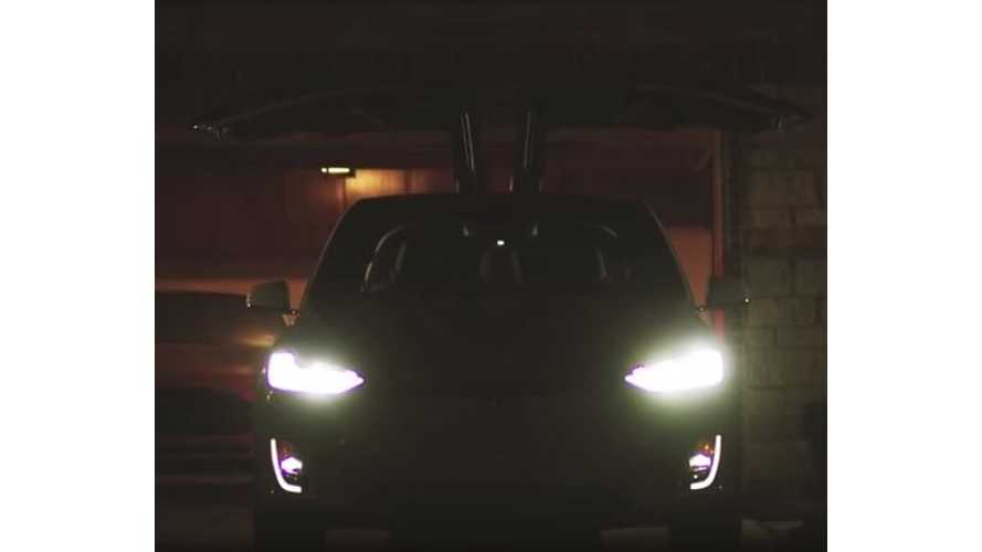 Tesla Model X Shoots For The Stars - Fan-Made Tesla Commercial