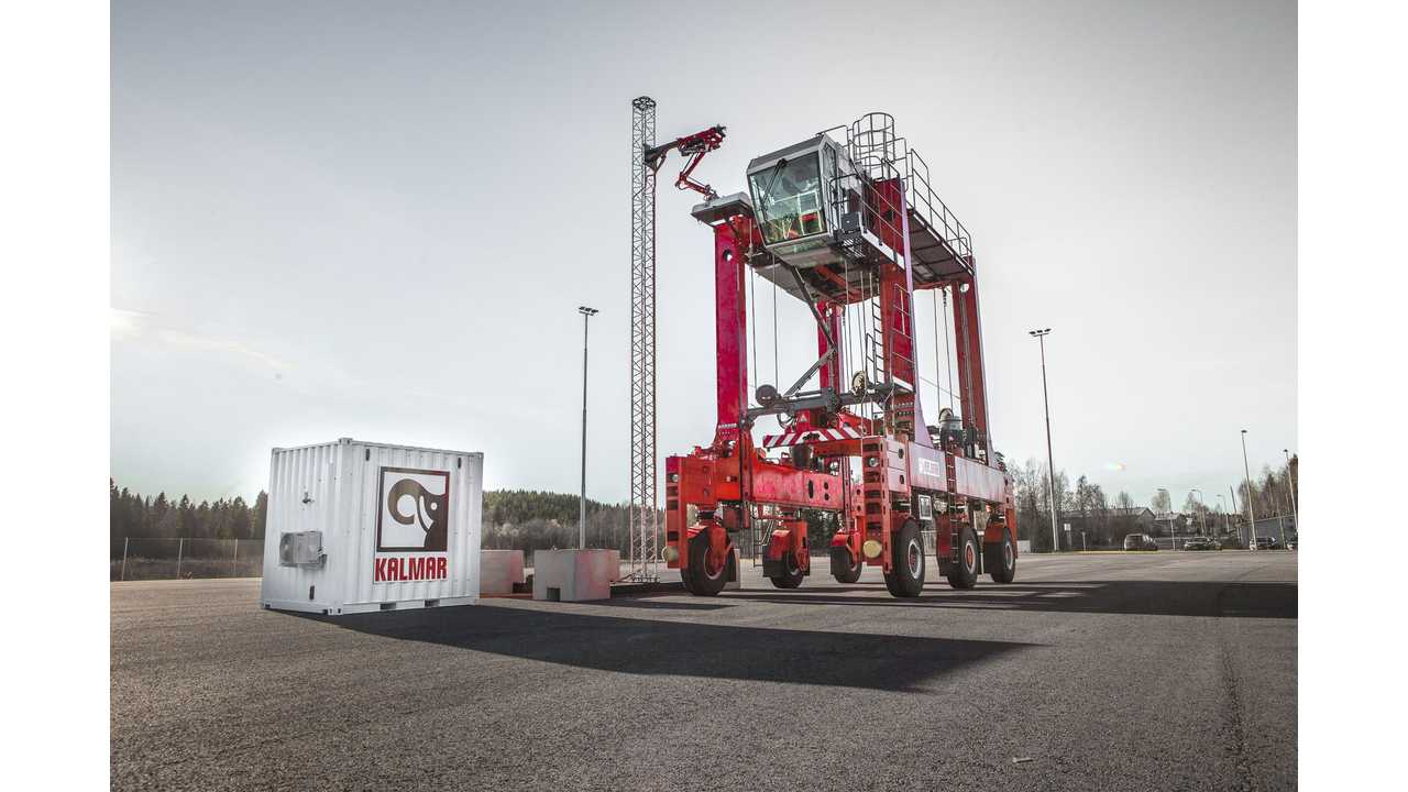 Kalmar Introduces 600 kW Fast Charger For Shuttle Buses & Straddle Carriers