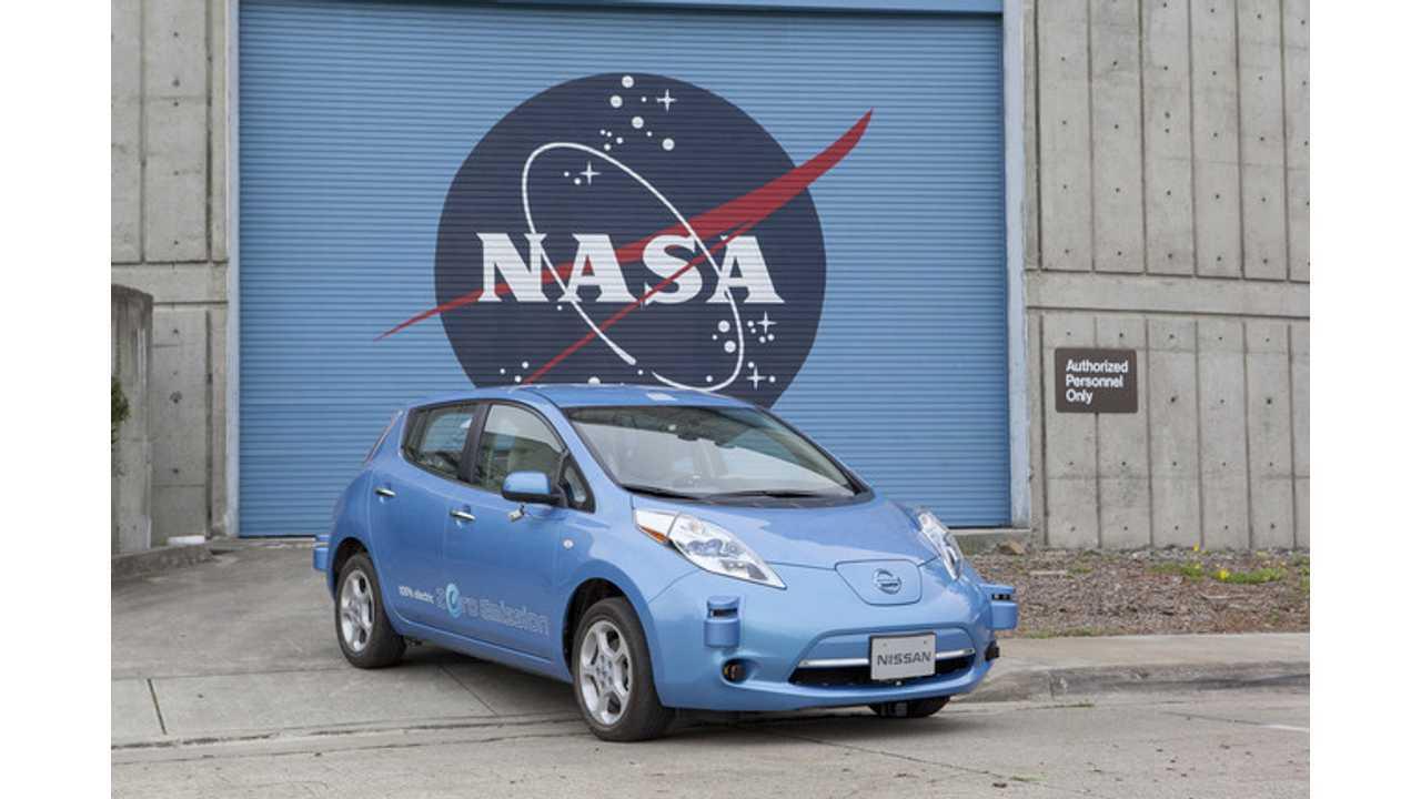 Nissan And NASA Team Up To Make Autonomous Driving A Real Thing - This Year