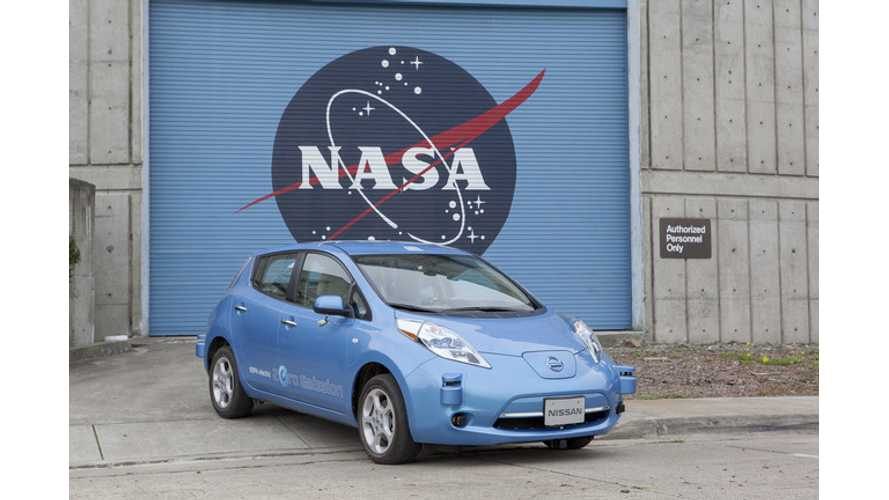 Nissan And NASA Team Up To Make Autonomous Driving A Real Thing - This Year