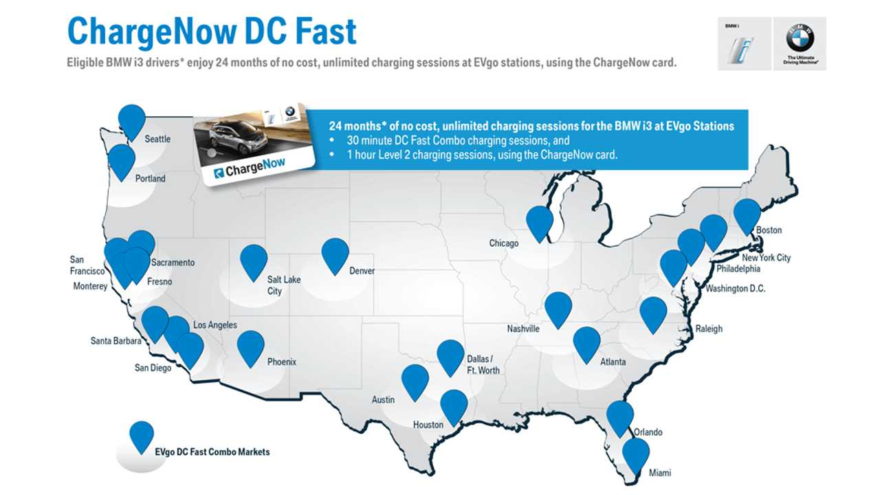 ChargeNow DC Fast Offers Free Fast Charging For i3 Buyers