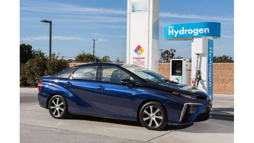 Hydrogen Shortage Hits Hard: Toyota Mirai Owners Urged To Top Up Frequently