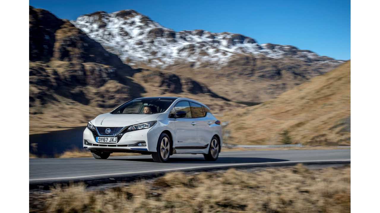 Nissan LEAF Sets All-Time Monthly Sales Record In Canada