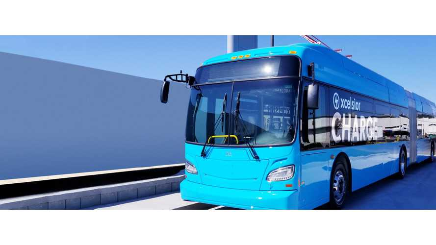 New York City Ordered 15 New Flyer Xcelsior CHARGE Electric Buses