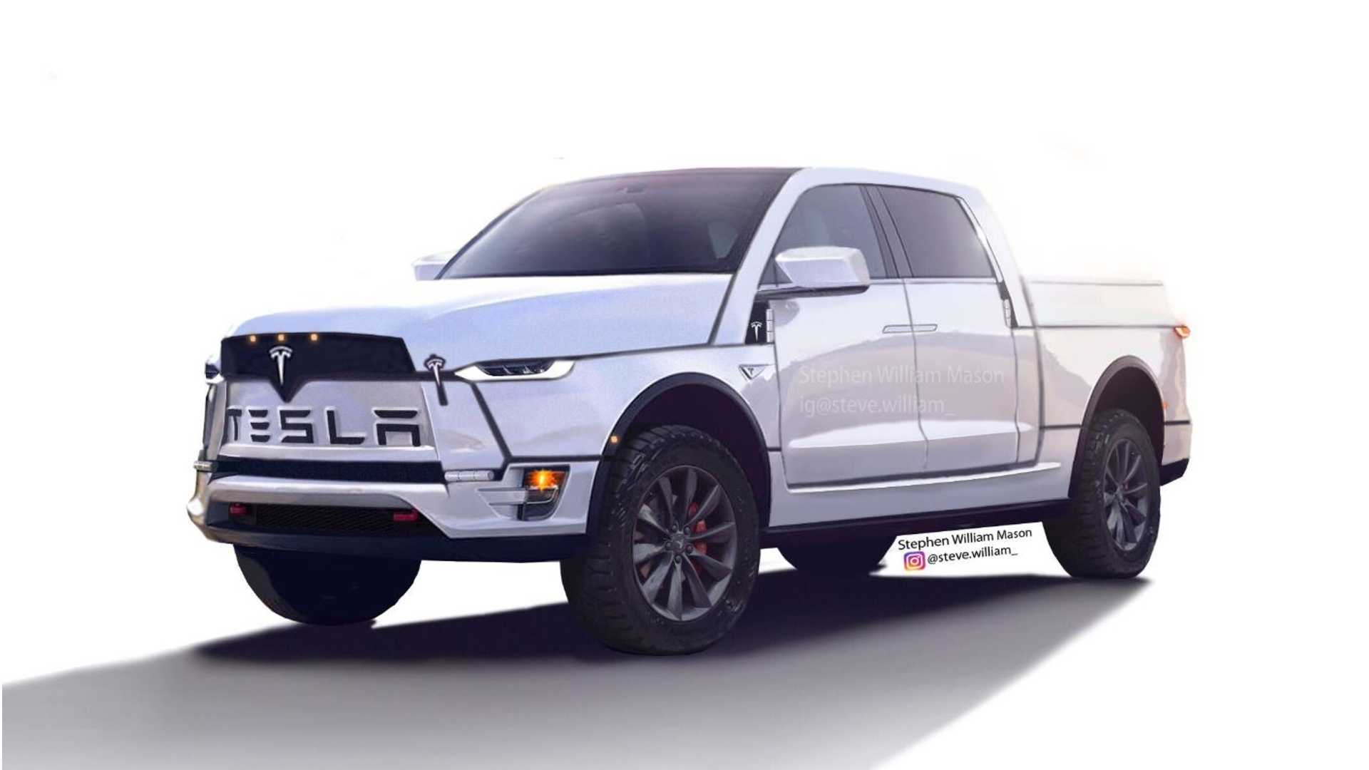Tesla Pickup Truck Highlights Details Plus New Truckla