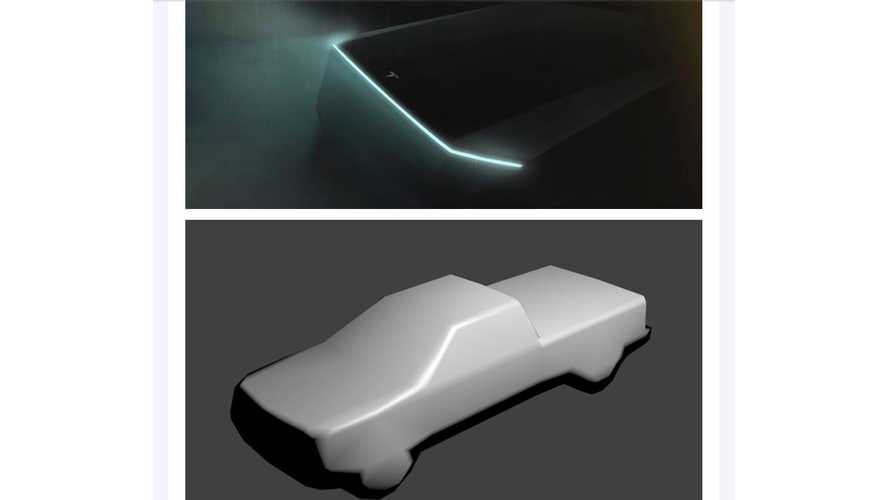 Is This Our First Look At The Real Tesla Truck? Video