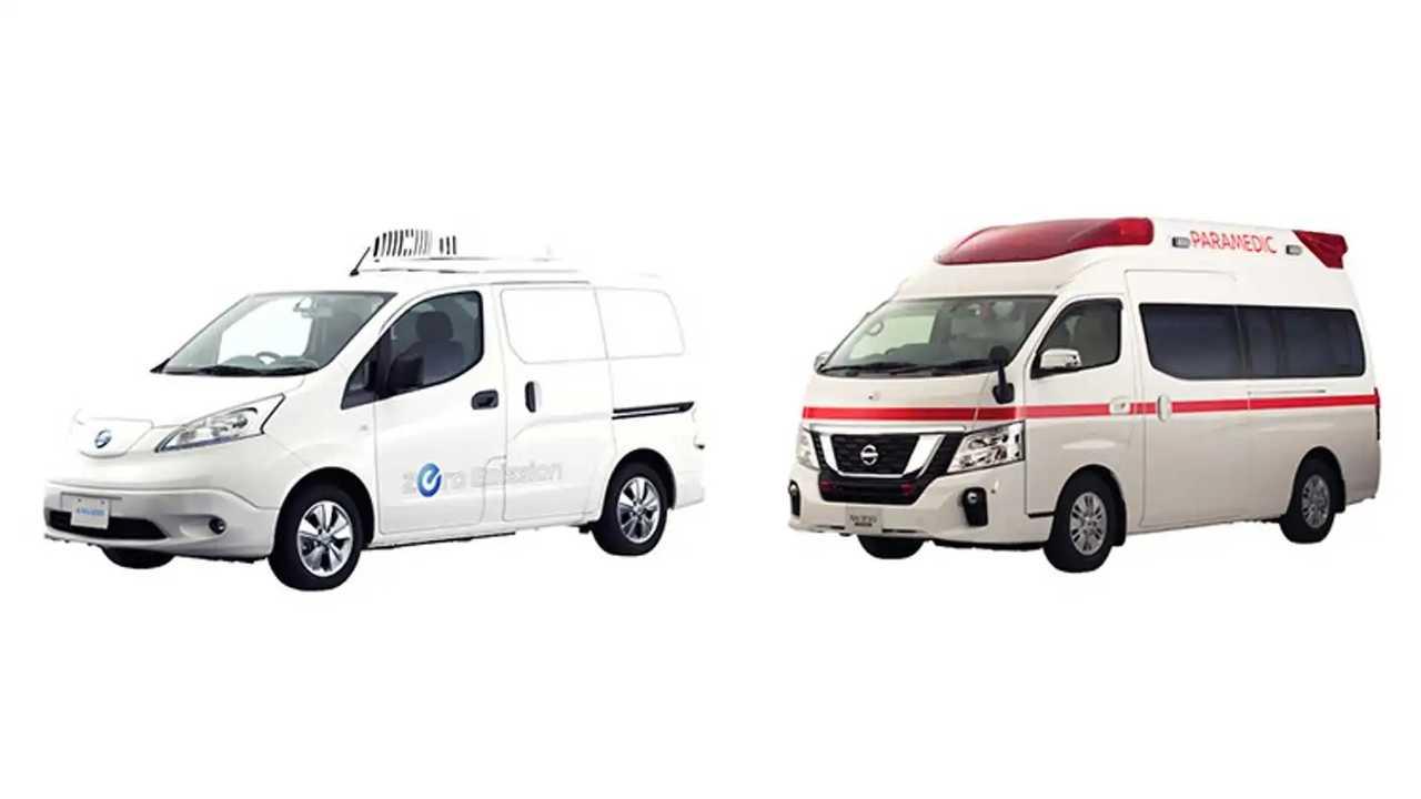 Nissan Presents e-NV200 Fridge Concept
