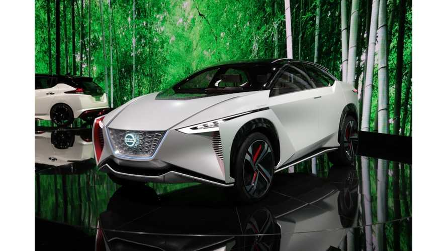 Nissan Exec Discusses All-Electric IMx SUV Concept - Video