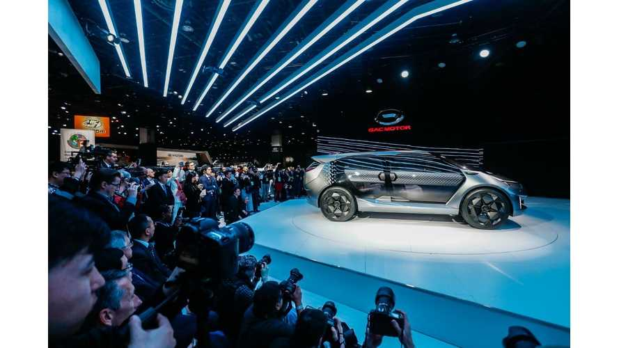 GAC Entranze Electric 7-Seater At NAIAS: Photos & Videos