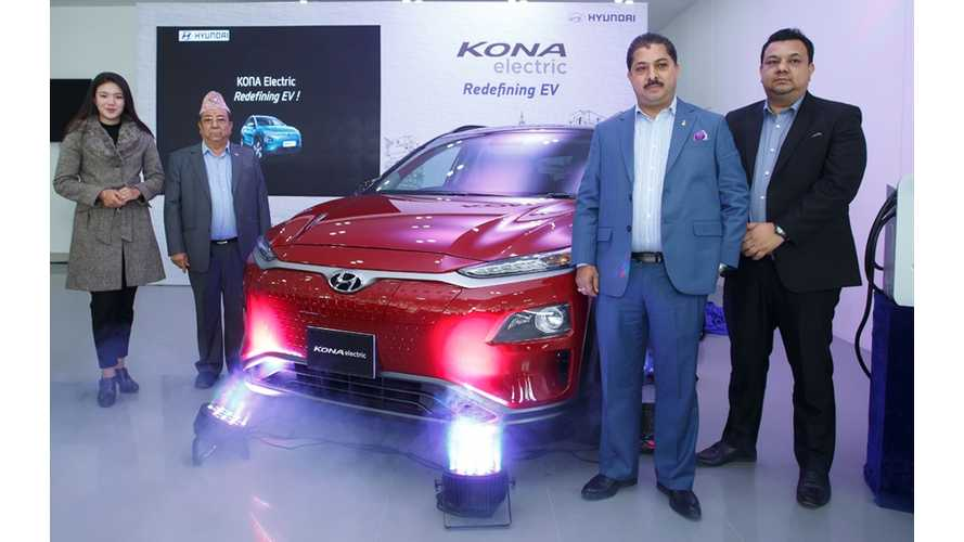 Hyundai Kona Electric Launches In Nepal