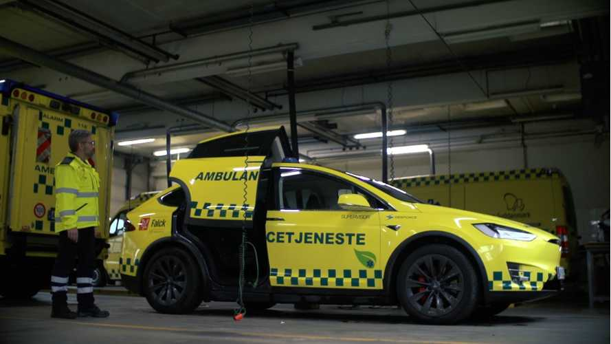 Check Out This Electric Tesla Model X Ambulance