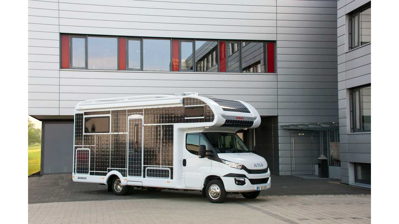 Meet The Solar-Assisted Electric Motorhome Of The Future