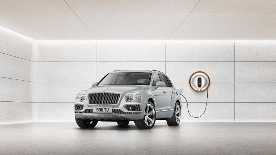 Bentley Bentayga Plug-In Hybrid Goes 31 Miles On Electric