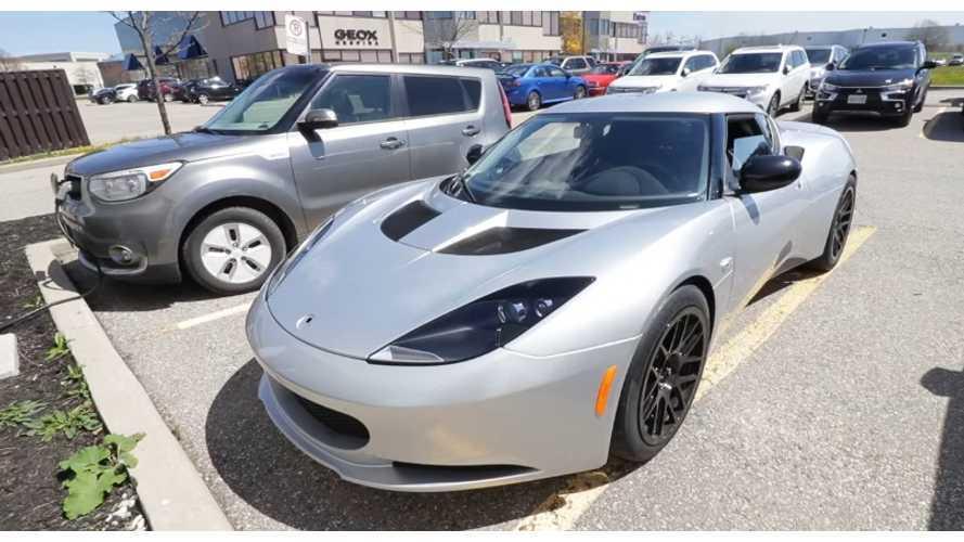 Blue Lightning: Lotus Evora powered by Tesla electric motor and Chevrolet Volt batteries
