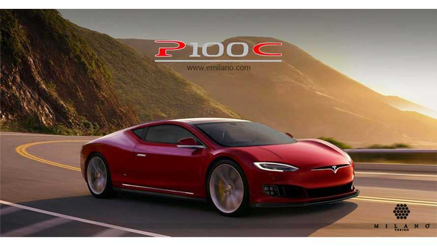 Tesla Model S Coupe & Convertible Rendered