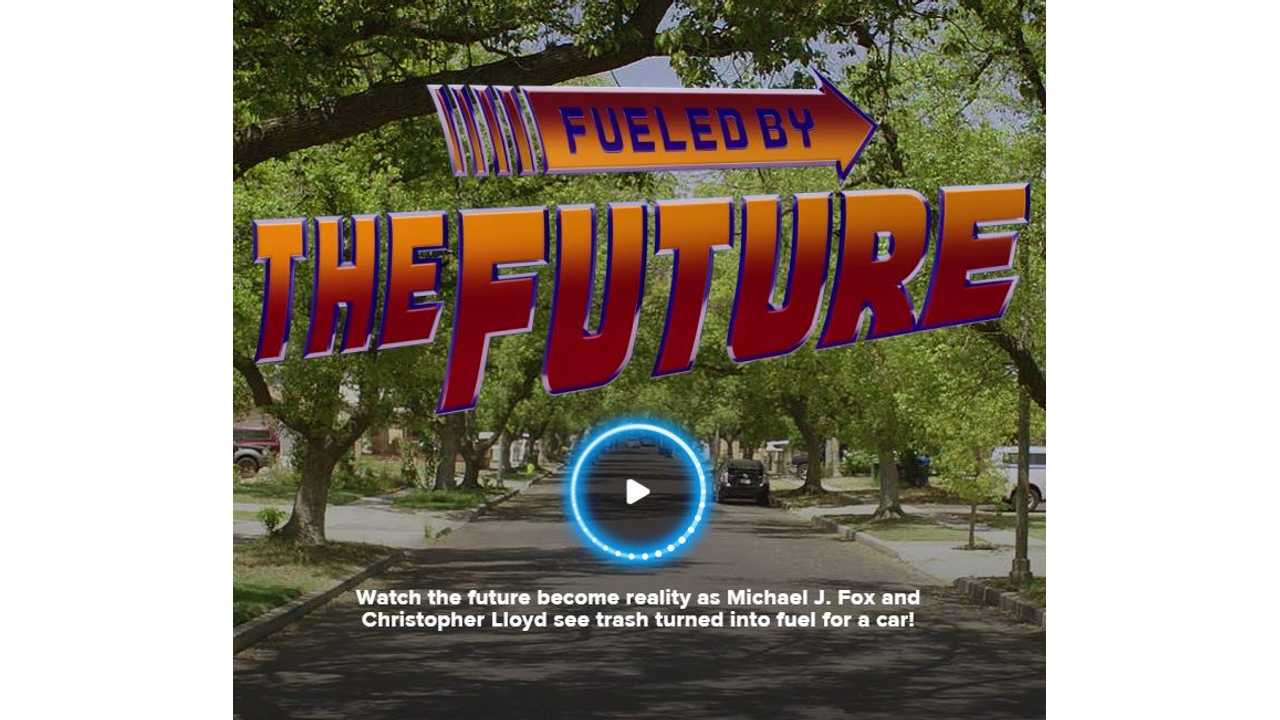 Toyota Goes Back To The Future - Fuels Mirai With Trash - Videos