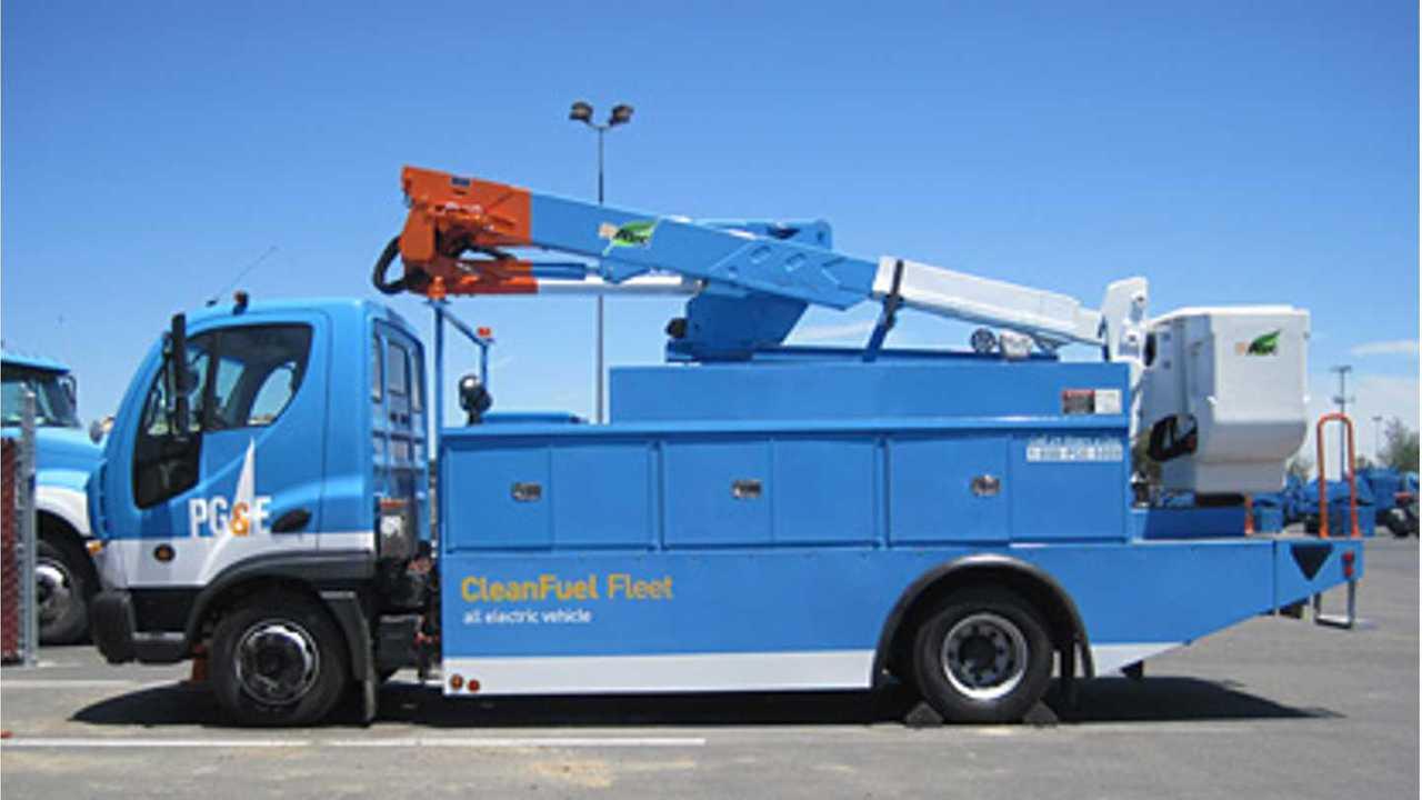 PG&E's Smith electric truck