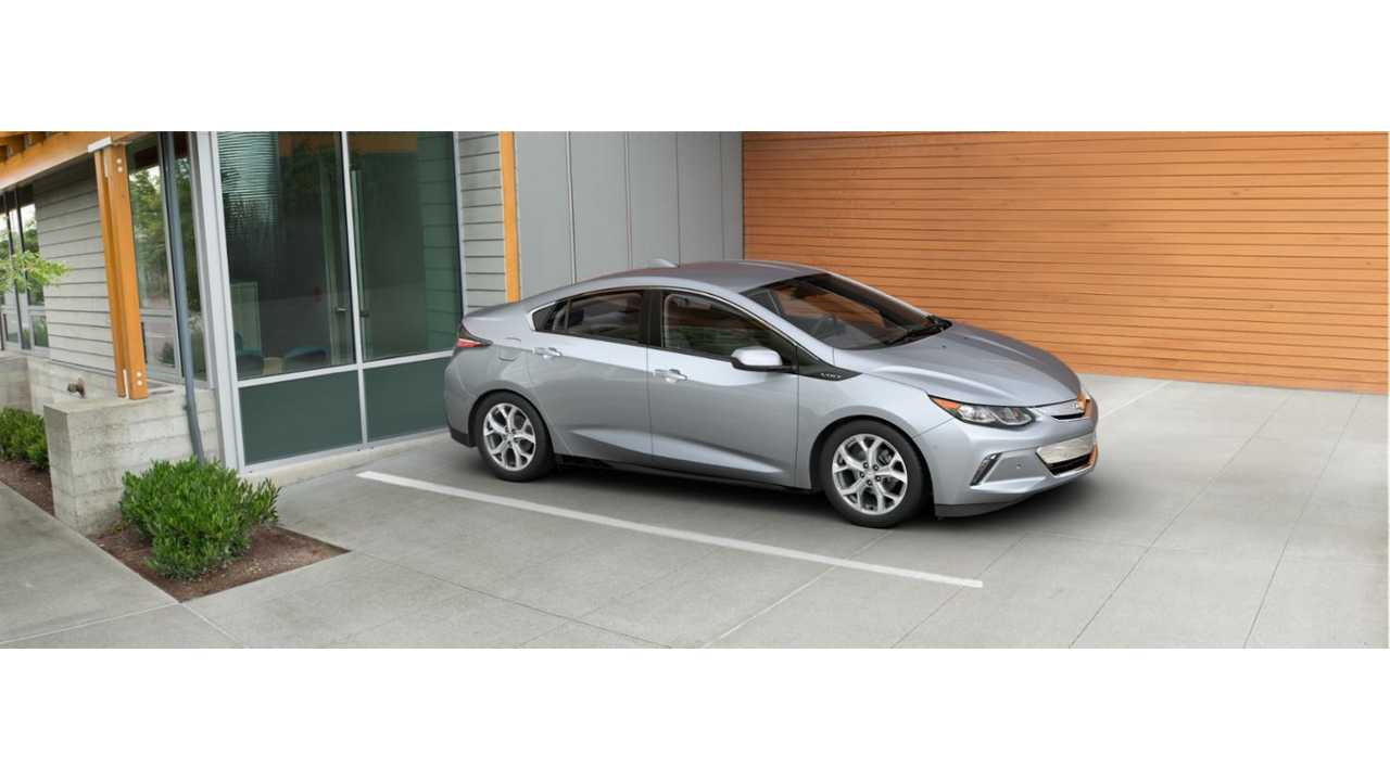 2016 Chevrolet Volt Rated At 53 Miles Electric Range 106 Mpge 42 Mpg On Gas