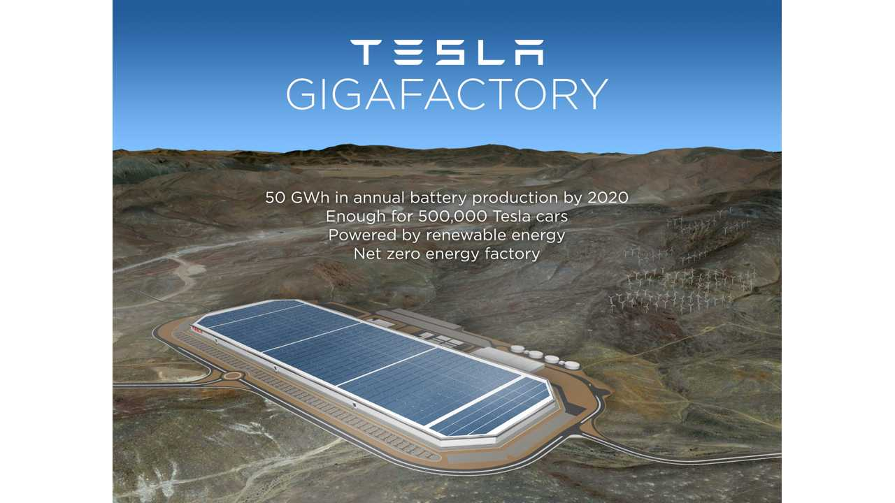 Tesla's Gigafactory To Be Even Bigger Than Expected? (w/video)