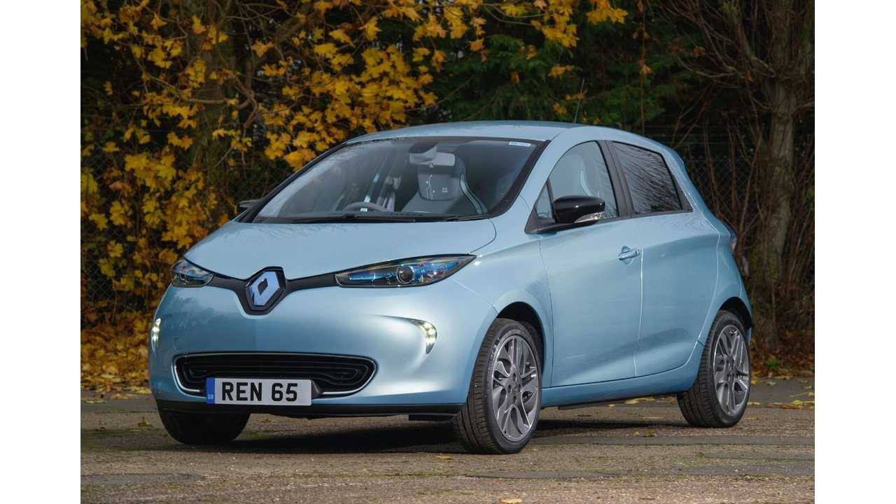Renault Updates ZOE, Twizy Trim Levels