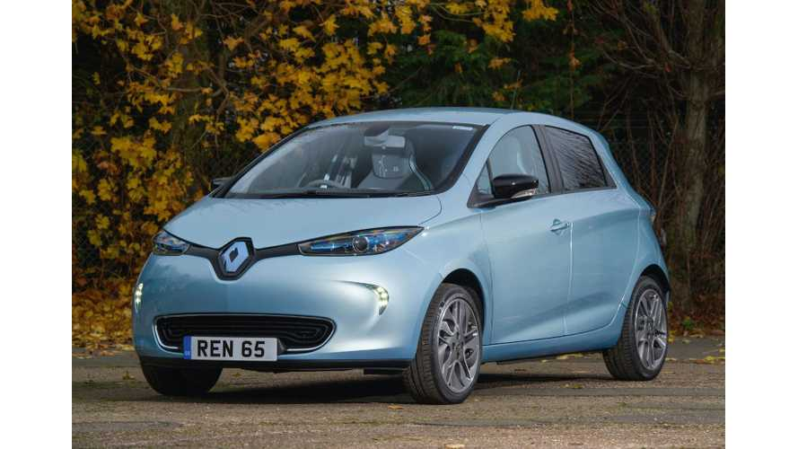 Renault Updates ZOE, Twizy Trim Levels