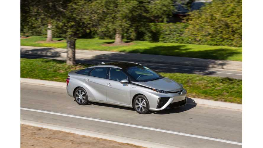 Toyota Provides Details On UK Launch Of Mirai - 11 Cars In 2015, Up To 50 In 2016