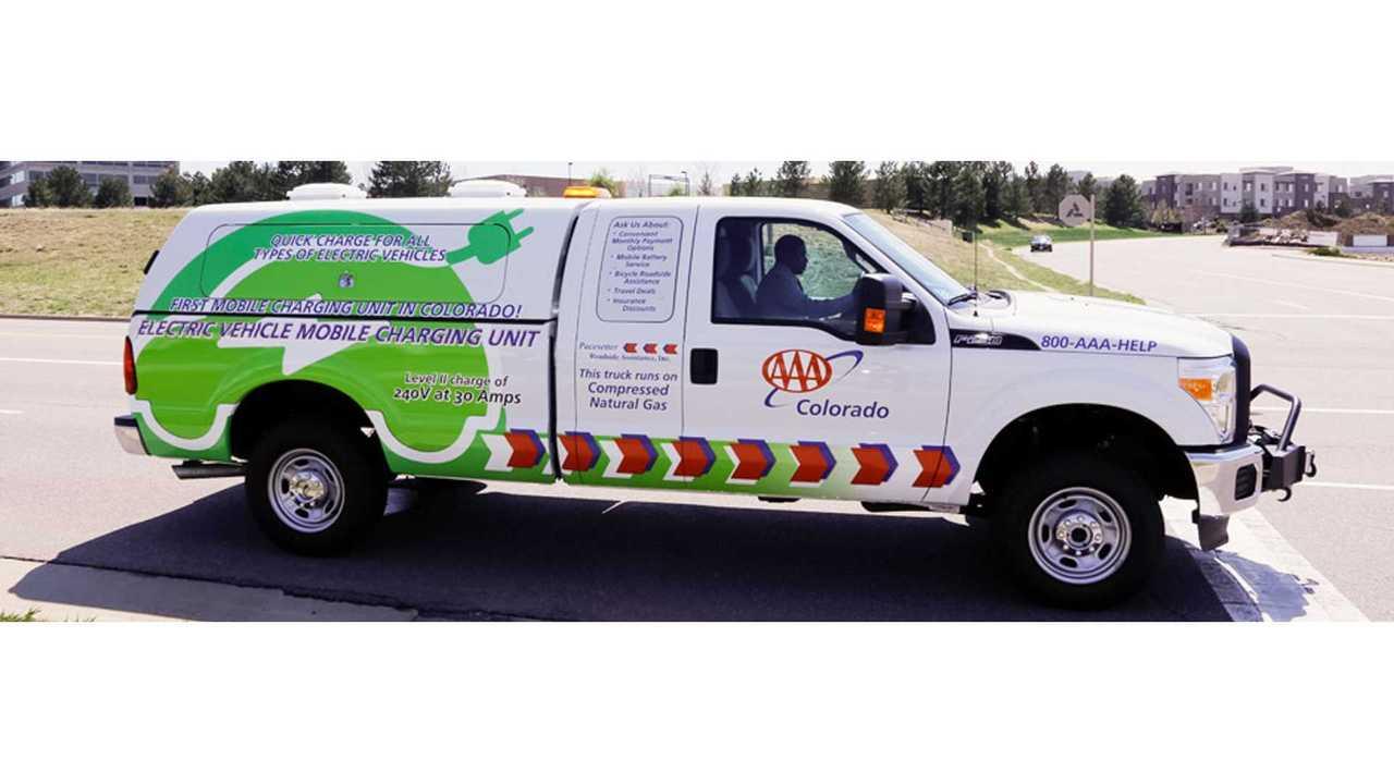 AAA Colorado Offers L2 Roadside Charging