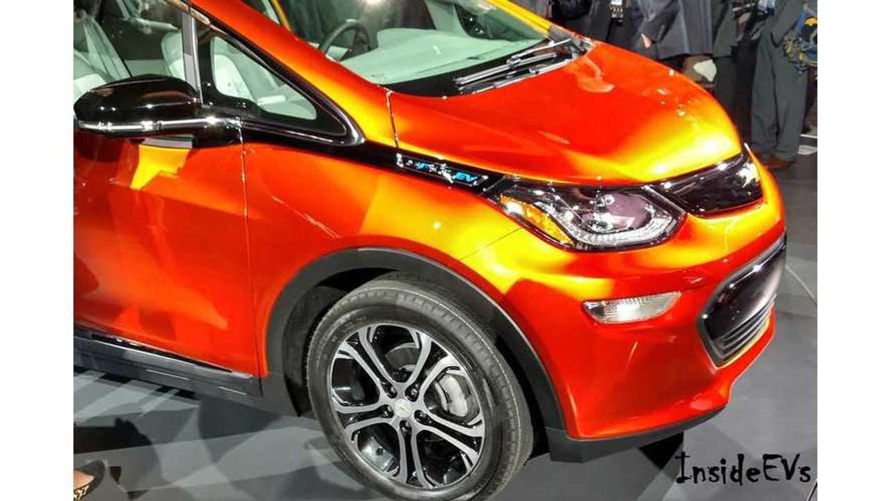 Chevrolet Bolt EV Specs Revealed: 60 kWh, 0-60 In
