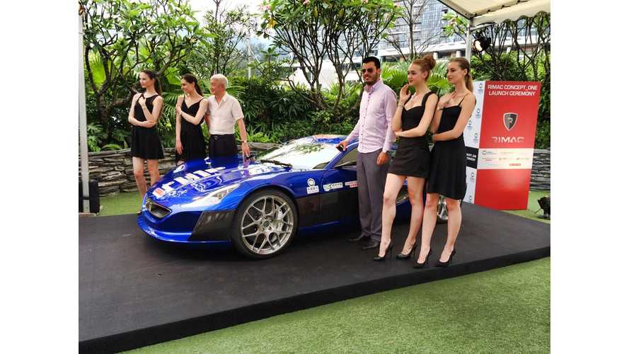 Rimac Automobili Entering Hong Kong With Help From China Dynamics