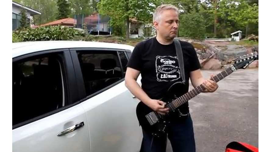 Nissan LEAF - Zero Emissions Guitar Amplifier - Video
