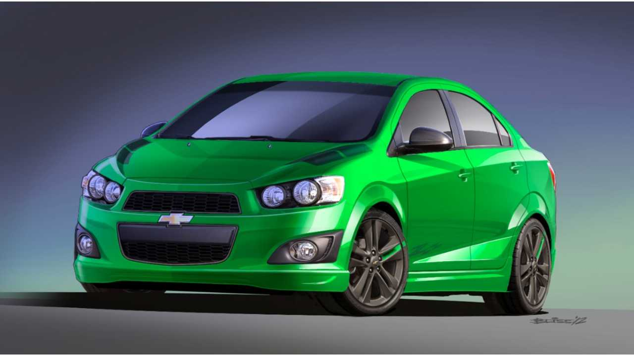 200-Mile Chevy Sonic EV Coming In 2016