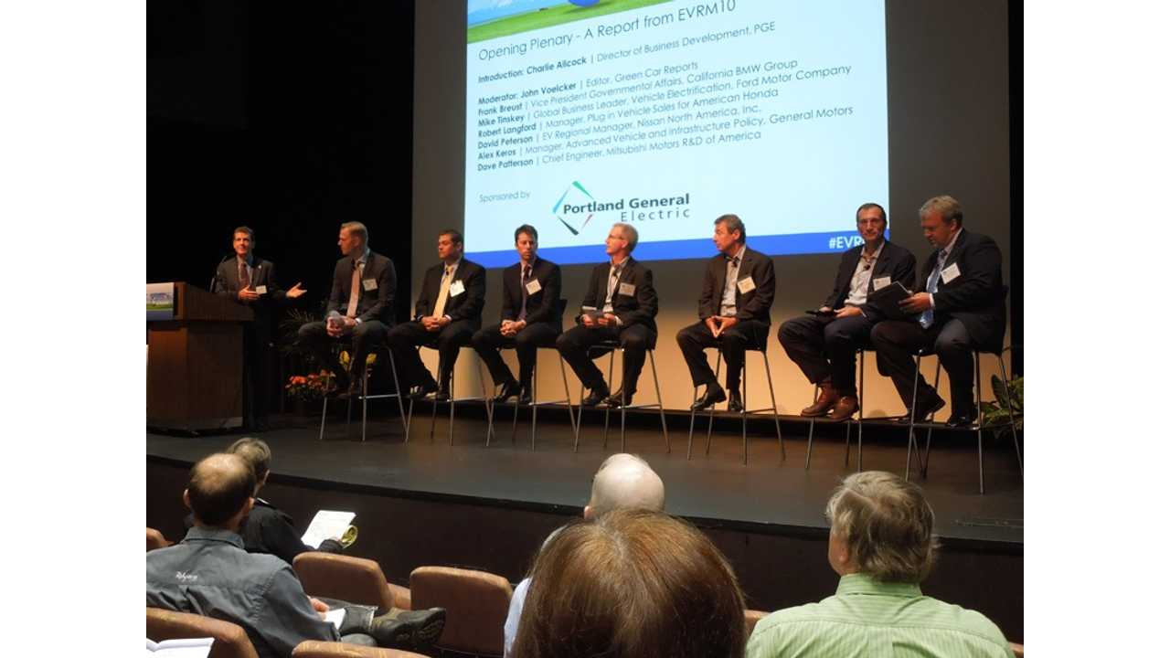 Exclusive - Automakers Offer Thoughts On Electric Vehicle Market In 2017 - EV Roadmap Conference