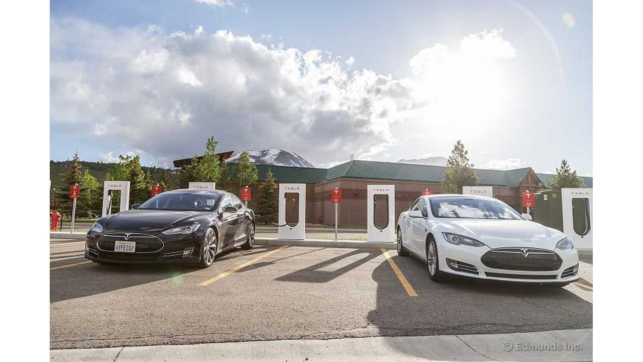 Edmunds Sets New Record For Tesla Model S Cross-Country Travel