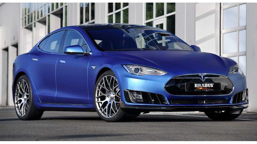 Brabus Mods Tesla Model S - (w/ 4K Video)