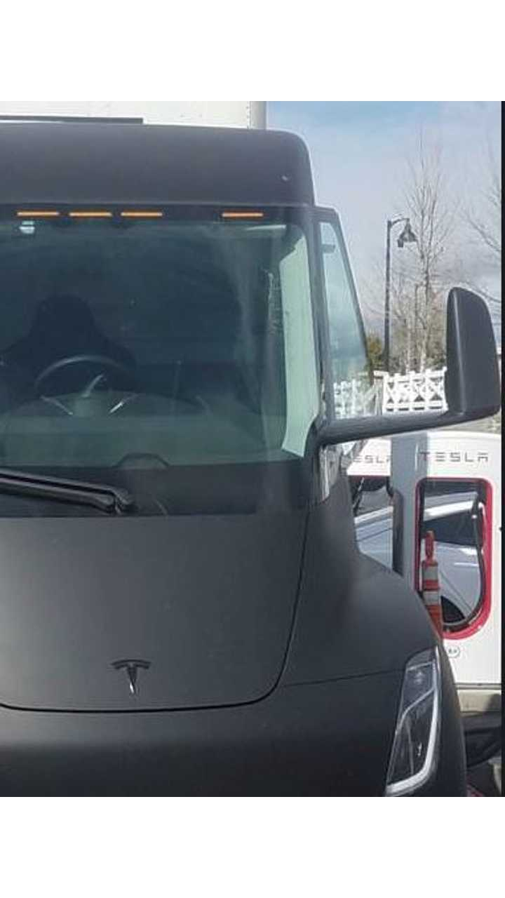 Tesla Semi Trucks Supercharging At Rocklin - Here Are The Details