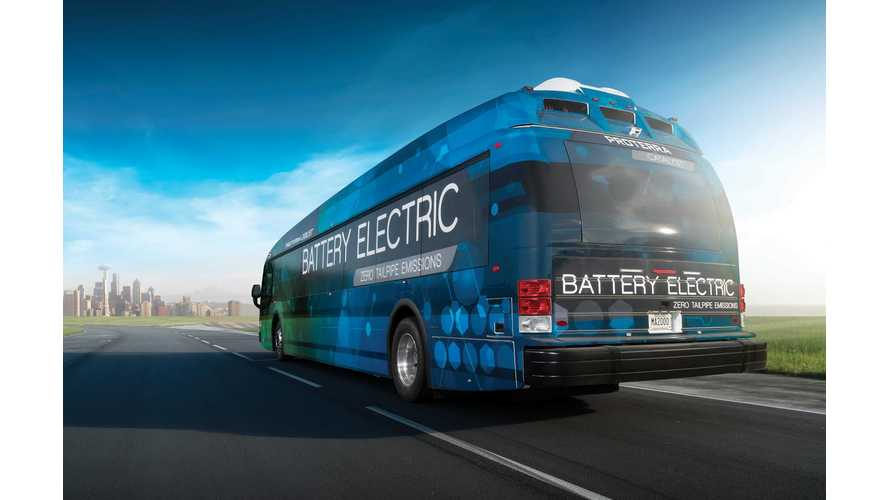 Proterra Electric Bus Sets Range Record At 1,100 Miles Without Recharging