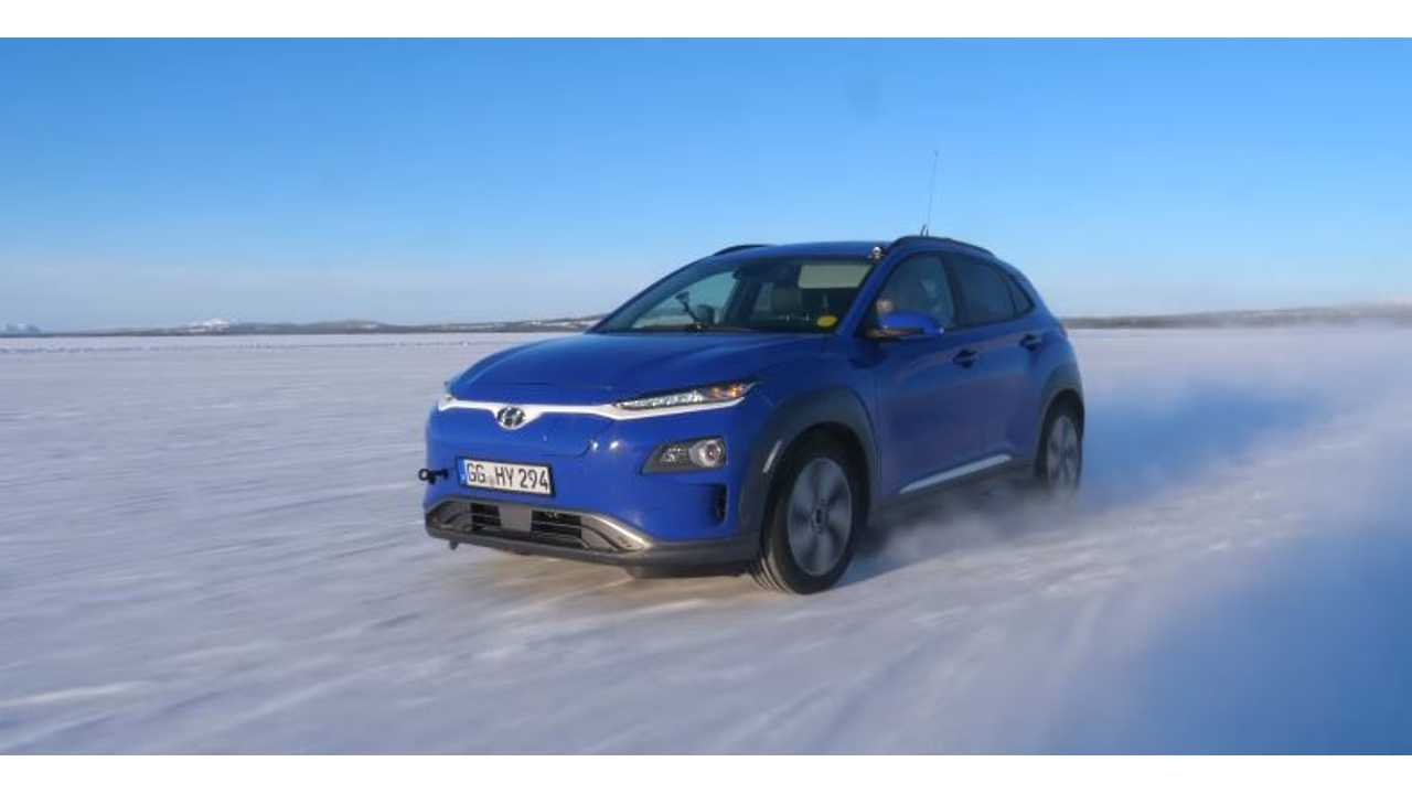 Hyundai Kona Electric Tested In Extreme Sub-Zero Conditions