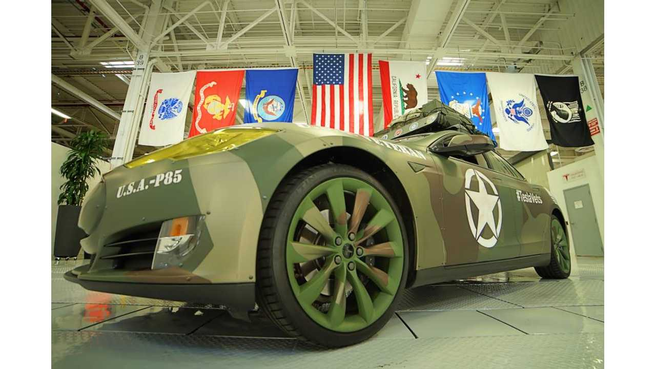 Could Tesla Be Best Suited To Serve Military Renewable Power Contracts?