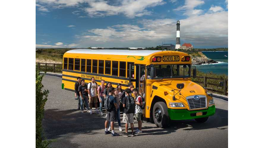 Blue Bird Begins Taking Orders For Electric School Buses
