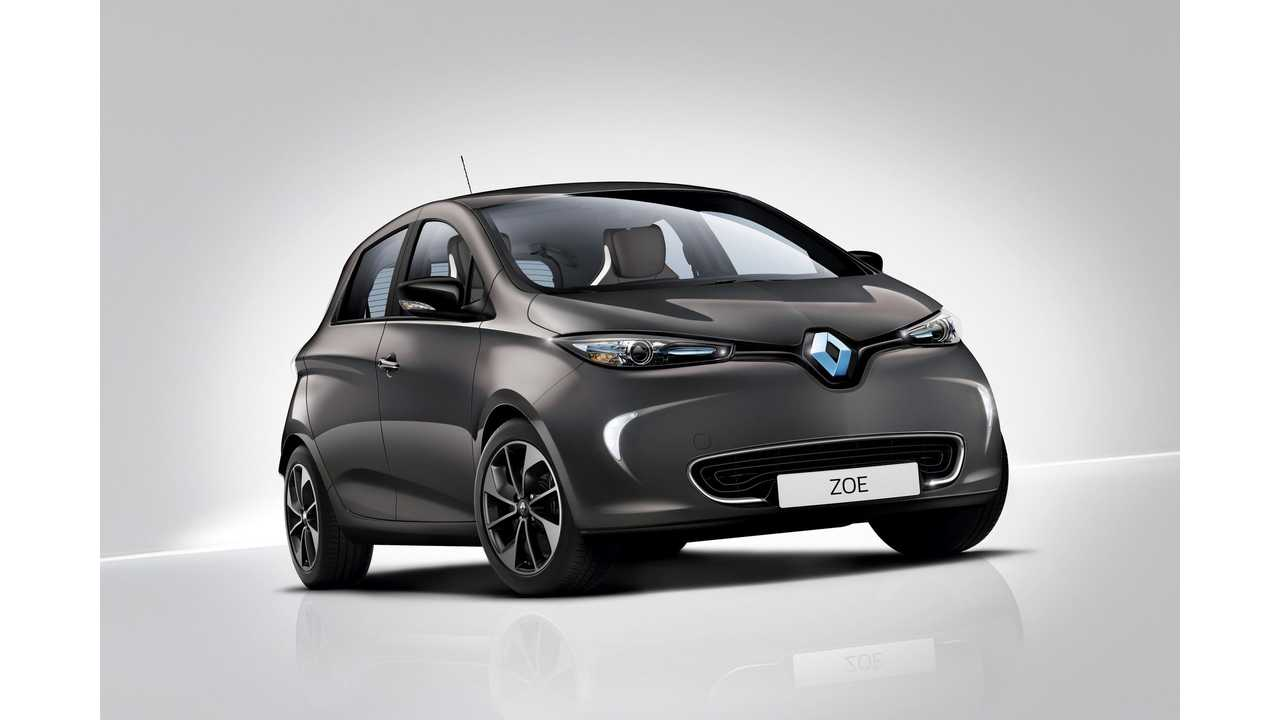 New 2017 Renault ZOE ZE 40: 400 km Range*, 41 kWh Battery