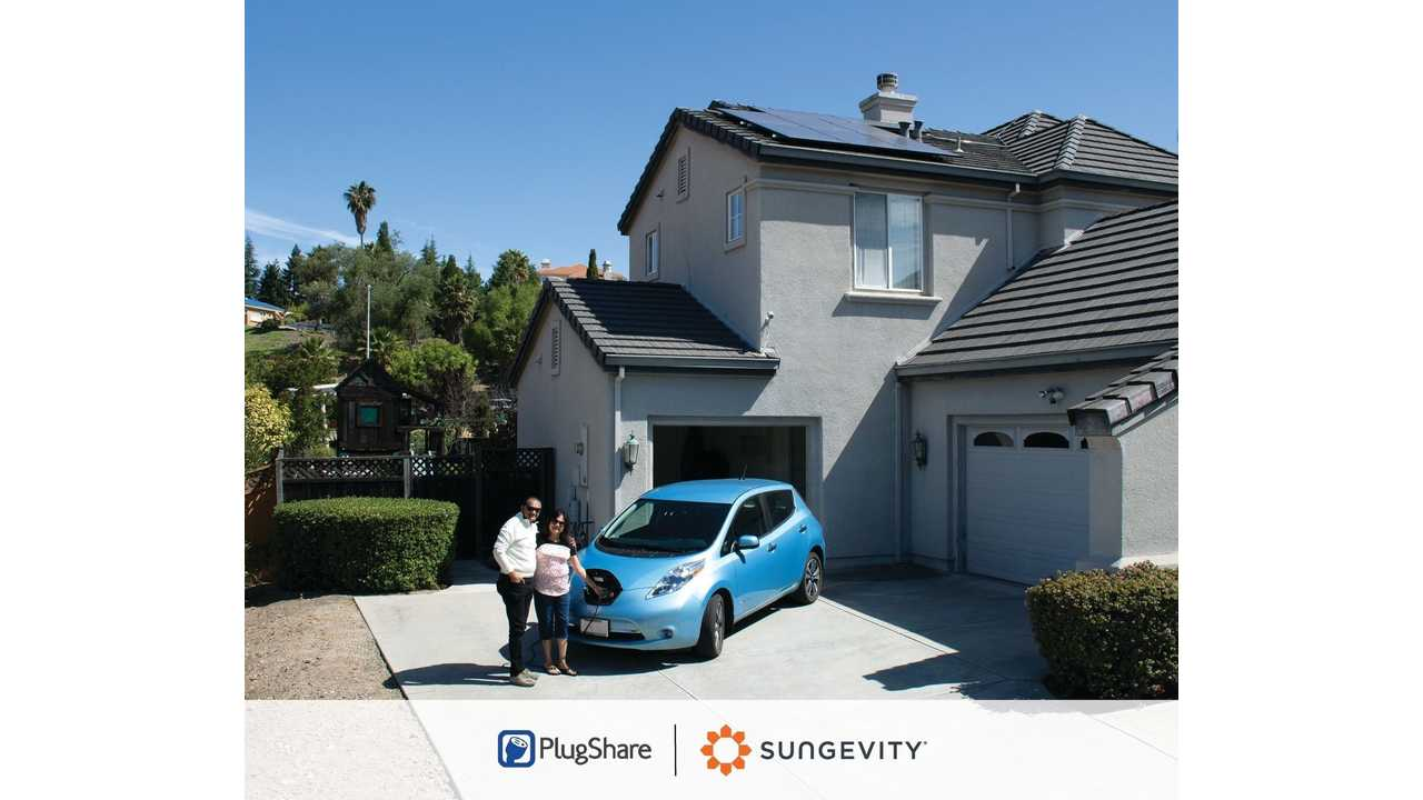 PlugShare's Drive Solar Program Offers Free EV Charging Stations With Solar System In California