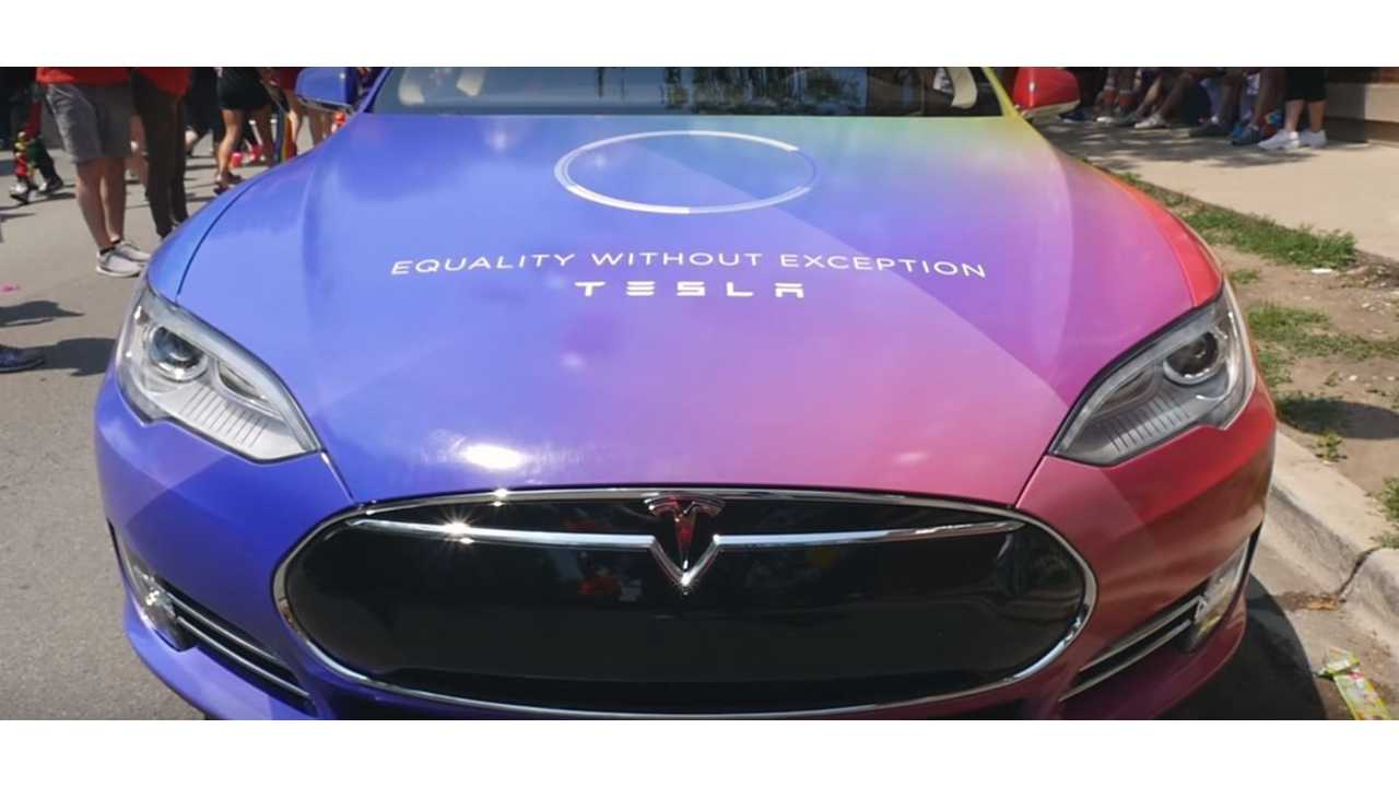 Tesla Is #1 Brand By LGBT Consumers