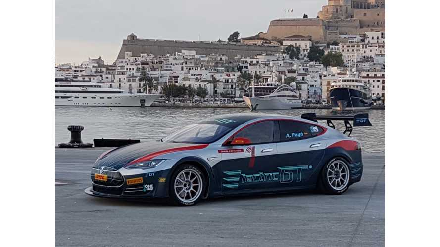 Electric GT Reveals Race-Ready Tesla Model S