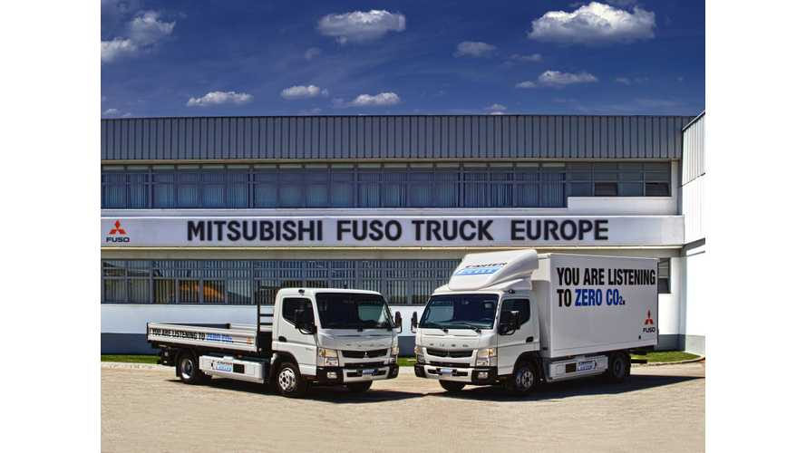 Daimler Presents New FUSO Canter E-Cell