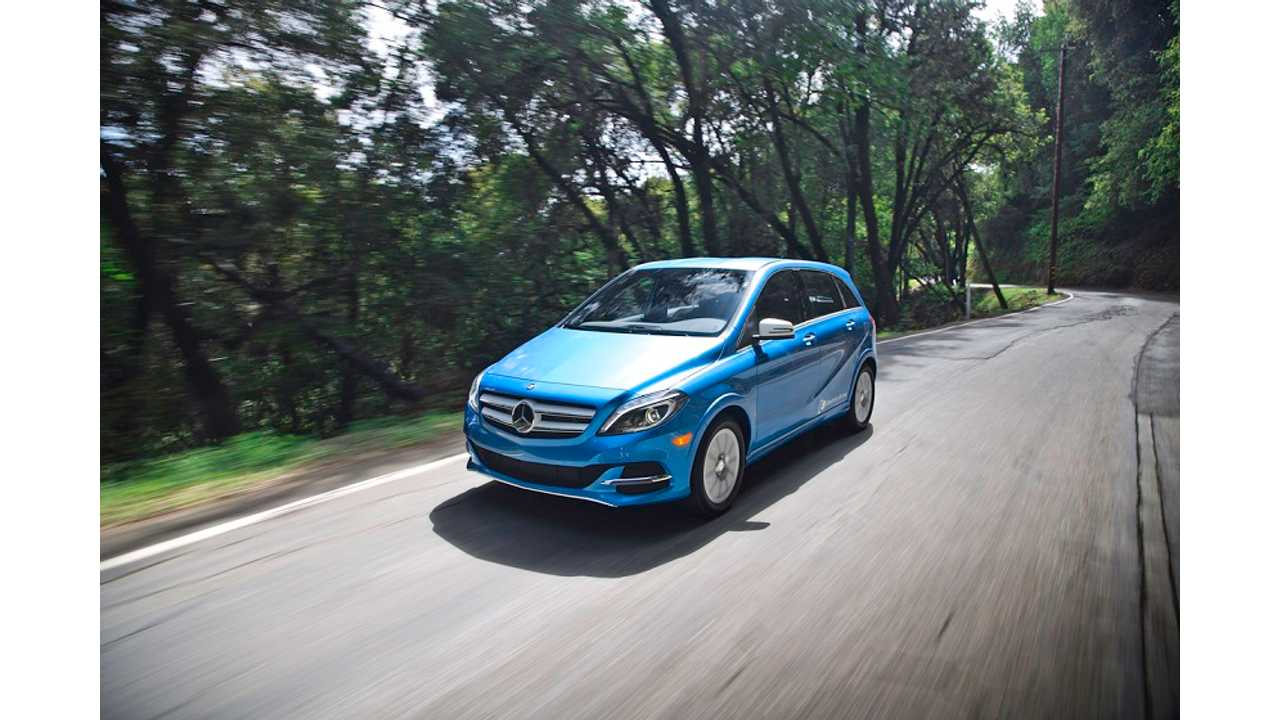 Mercedes-Benz B-Class ED Battery Larger Than Expected - 36 kWh, 104 Miles Of Range Available