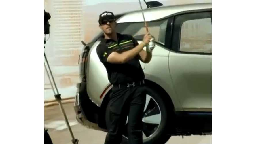 Hunter Mahan Receives BMW i3 From Hole-In-One At BMW Championships (video)