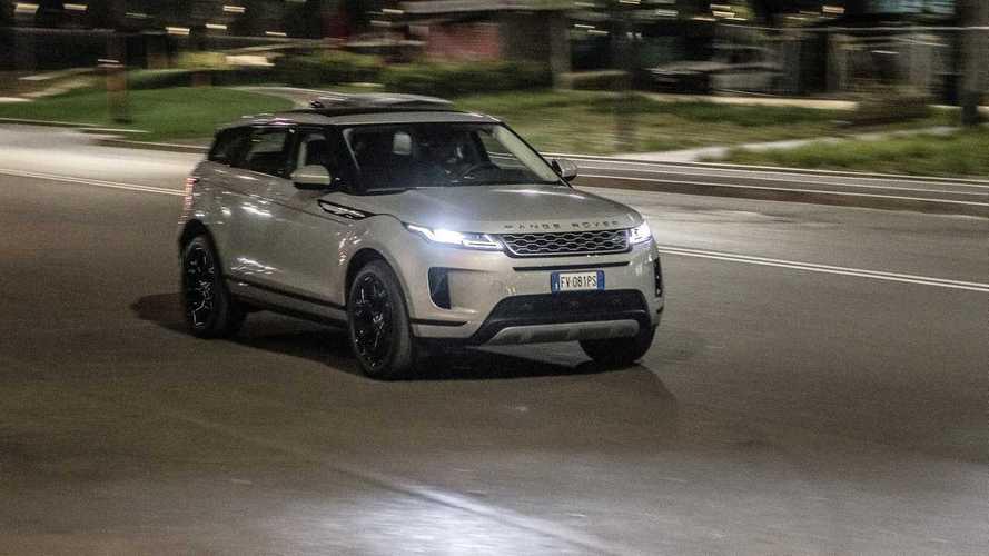 Range Rover Evoque, tutto in una notte